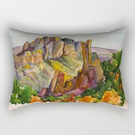 Big Bend National Park Rectangular Pillow