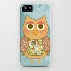 Woodland Owl in a Tree iPhone (5, 5s) Slim Case