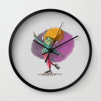 disco Wall Clocks featuring Disco by German