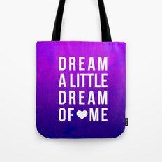 Dream x Purple Tote Bag