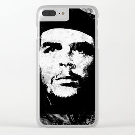 CHE GUEVARA (BLACK & WHITE VERSION) Clear iPhone Case