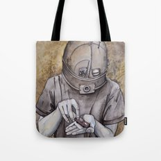 It starts early Tote Bag
