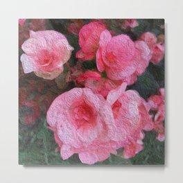 Pink Flowers 913 Metal Print