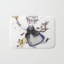 Art Prints- Witches art - Nursery Print - Nursery Prints - Nursery Art - Baby Room Wall Art - Withes Bath Mat
