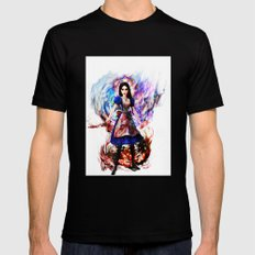 Alice madness returns Black LARGE Mens Fitted Tee