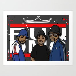 Get Down with the Kings Art Print
