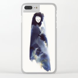 Mountain Watcher Clear iPhone Case