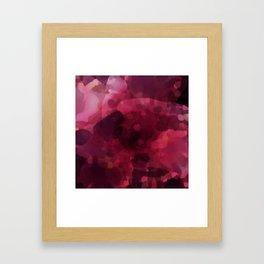 Spilled Wine Framed Art Print