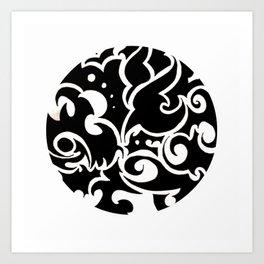 Tattooed Millionaire Art Print