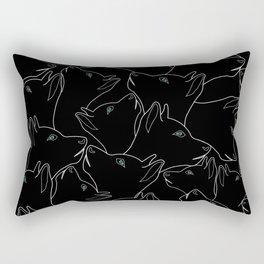 I love my pet Rectangular Pillow