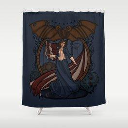 Elizabeth Nouveau Shower Curtain