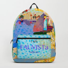 FAUVISTa Sailboats Backpack