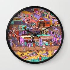 Fried n' Cheesy Wall Clock