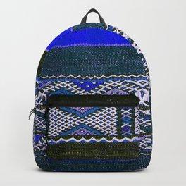 V37 Traditional Moroccan Carpet Artwork Backpack