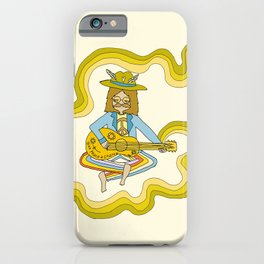give peace a chance // music and soul from the groovy legend iPhone Case