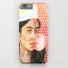 Bubblegum Girl iPhone 6s Slim Case