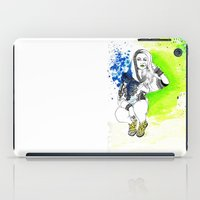 acid iPad Cases featuring Acid by N.I.S.