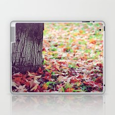 Autumn is a second Spring where every leaf is a flower Laptop & iPad Skin
