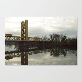 Tower Bridge - Sacramento, CA Canvas Print