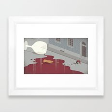 Hangover Framed Art Print