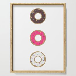 Donut Time! Serving Tray
