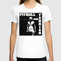 pitbull T-shirts featuring Zef Pitbull by Jera Sky