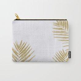 Fern Golden Carry-All Pouch