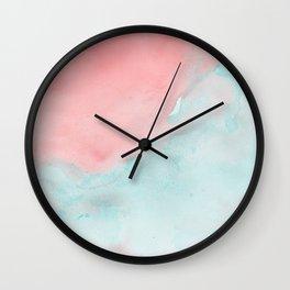 Watercolor III Wall Clock