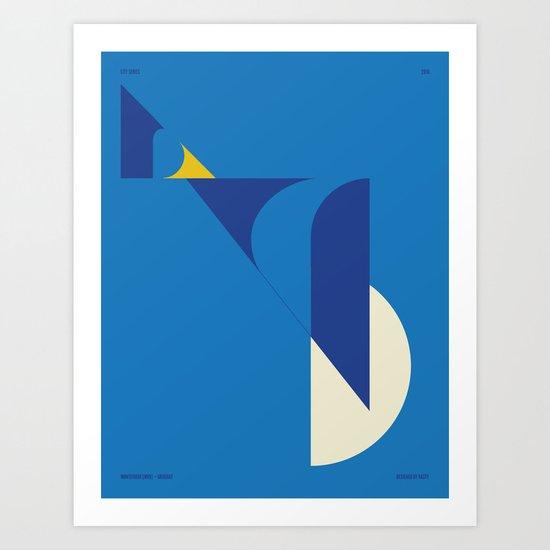 Montevideo — City Series Art Print
