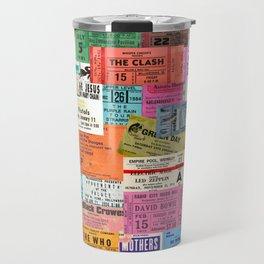 I miss concerts - ticket stubs Travel Mug