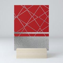 Silverado: Red Mini Art Print