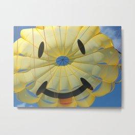 Happy Face Metal Print