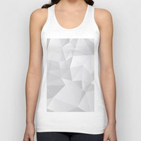 triangles Tank Tops featuring Triangles by By Nordic