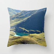 Among The Slopes Throw Pillow