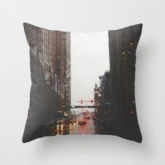 Griswold St - Detroit, MI Throw Pillow