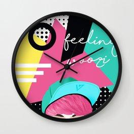 Feeling Woozi Wall Clock