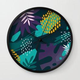 KORAY   Tropical #3 Wall Clock