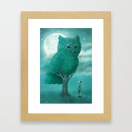The Night Gardener - Cover Framed Art Print