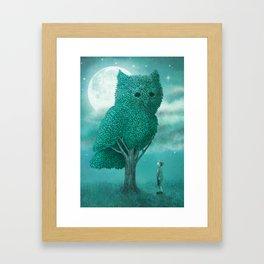 The Night Gardener - Cover Framed Art Print