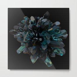 Dark Crystals Metal Print