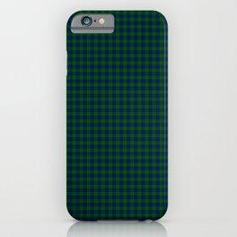 Montgomery Tartan iPhone Case