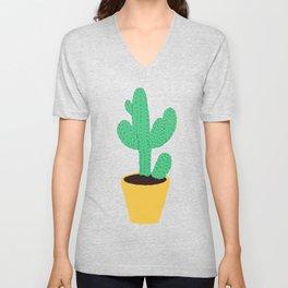 Cactus No. 3 Unisex V-Neck
