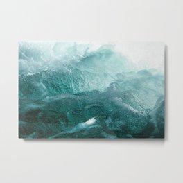 The River Rain Metal Print