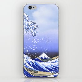 Surf's Up! The Great Wave iPhone Skin