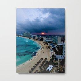 Cancún, Mexico Metal Print