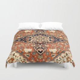 Sarouk Poshti Persian Rug Print Duvet Cover
