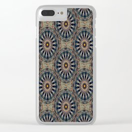 Star Daises Clear iPhone Case