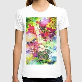 Floral Fantasy 7 T-shirt