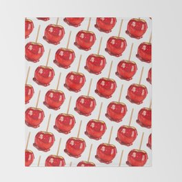 Candy Apple Throw Blanket