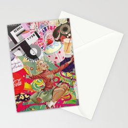 collage Vintage Stationery Cards